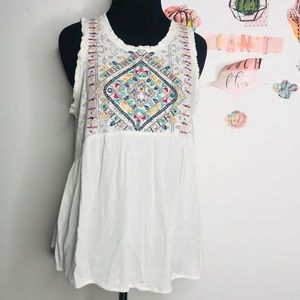 Eyeshadow top short sleeve white